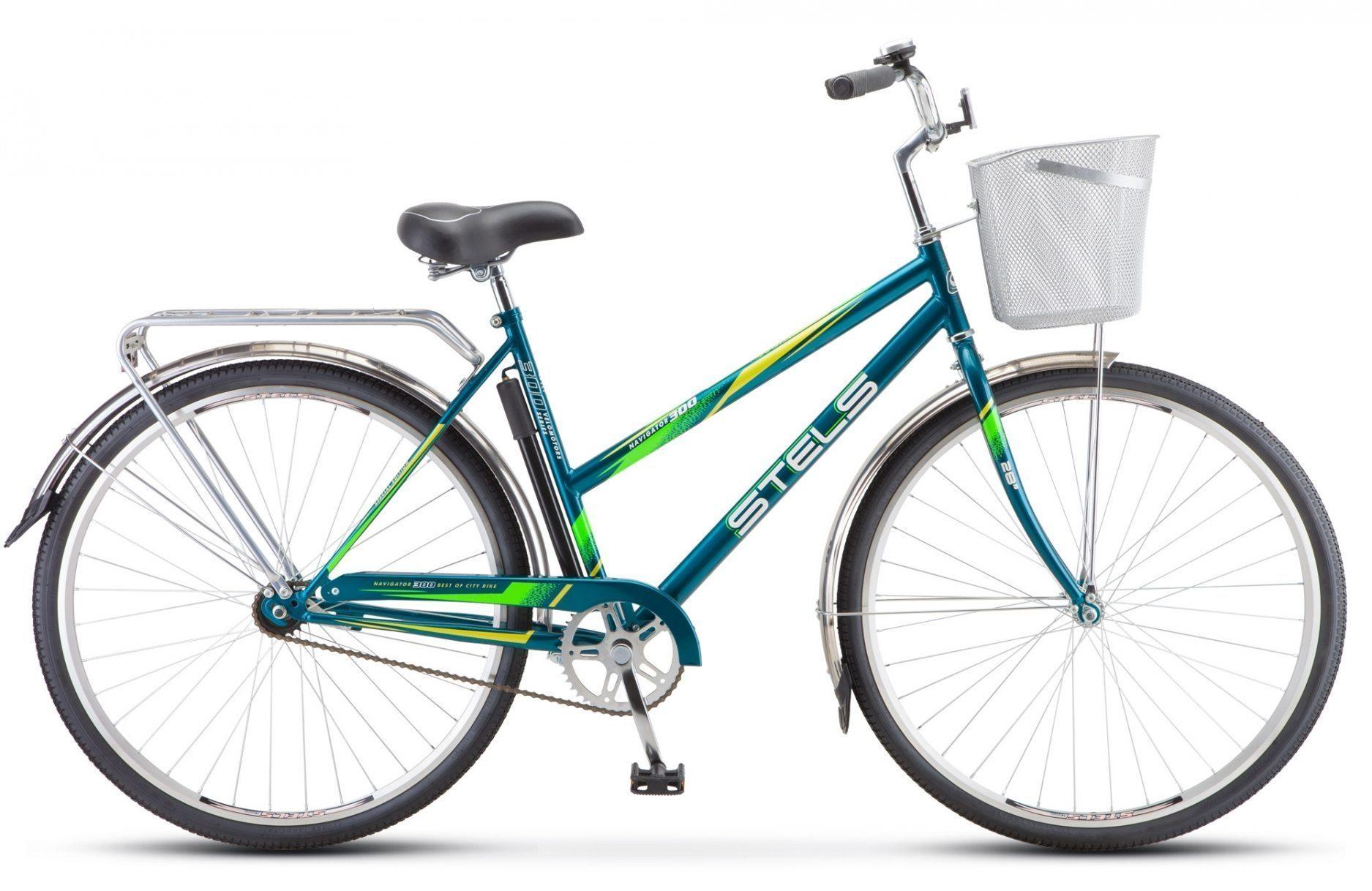 "Велосипед STELS Navigator 300 Lady 28"" Z010 (с корзиной)"
