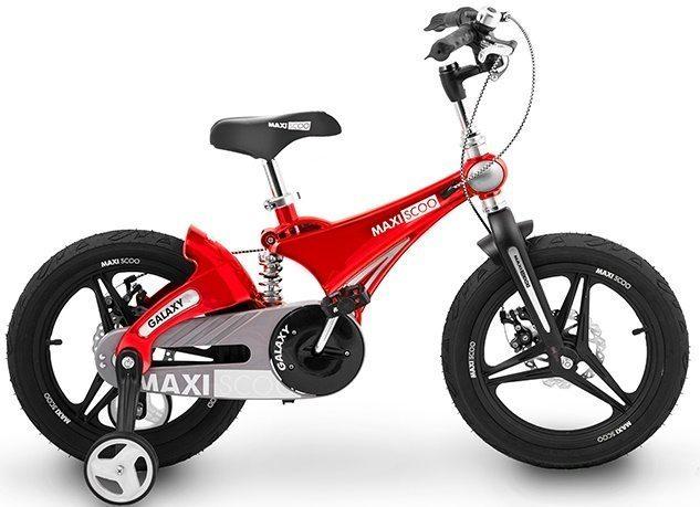"""Детский 2- колесный велосипед Maxiscoo Galaxy Делюкс, 14"""" (2020)"""