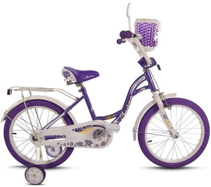 """Детский велосипед 18"""" Varma ЗАЙКА (сирен. покр-ки)"""