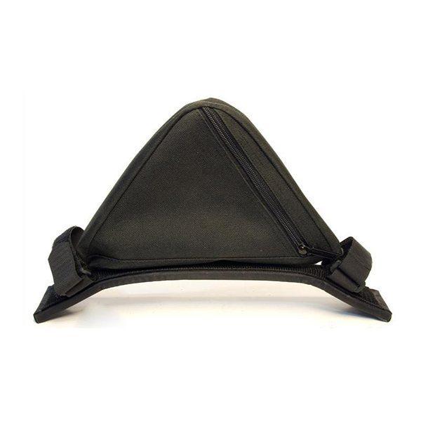 Велосумка под раму SL-1224. треугольная, чёрная