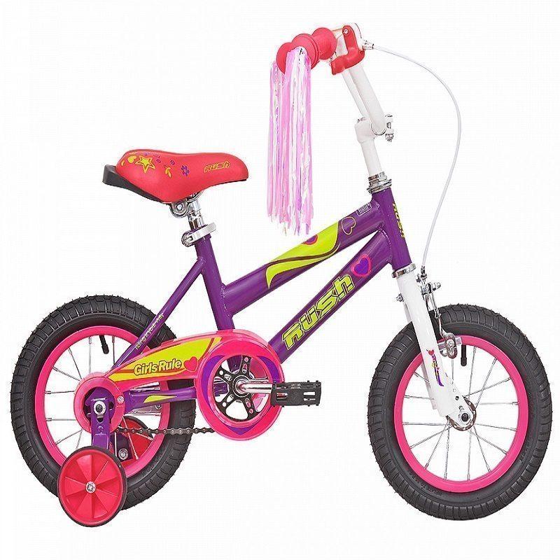 """Велосипед 16"""" RUSH HOUR GIRL RULS"""