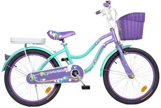 "Детский велосипед 18"" Varma LULU + корзина"