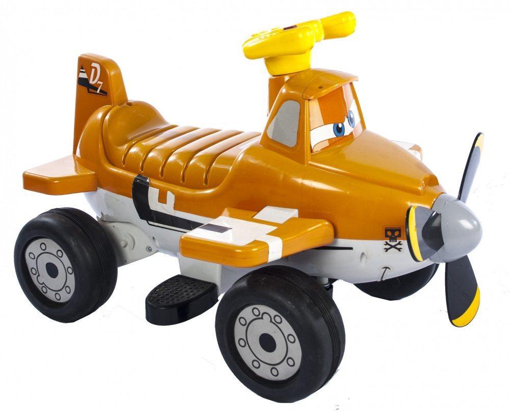 Детский мотоцикл-каталка Planes Самолет Дасти ZP5211