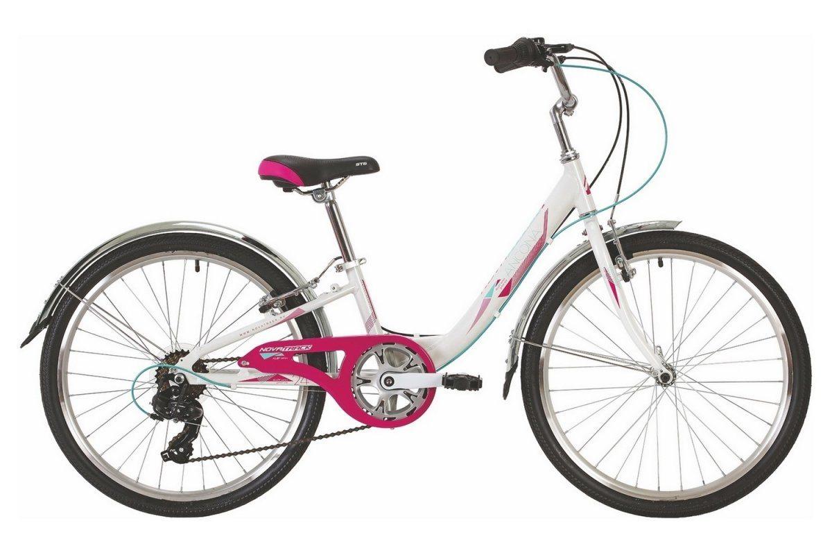"Велосипед NOVATRACK 24"" ANCONA ал. 7ск. V-brake"