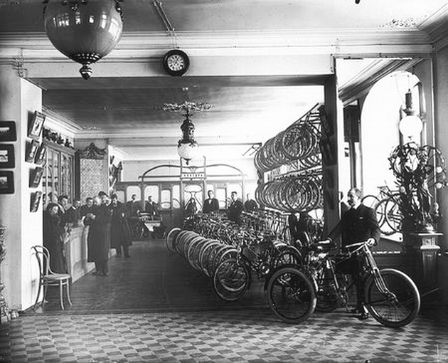 Торговый дом Победа, Санкт-Петербург. Продажа велосипеда (1912 г.)